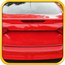12-18 Fits Ford Focus 1pc Bumper Rear PPF Applique Scratch Guard Clear Exact Fit