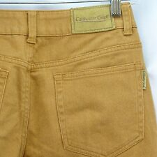 Women's Jeans Petite 8 Coldwater Creek Brown Rust Copper Stretch Bootcut