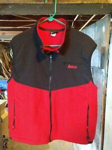 Vintage Nordica Red Black ski vest mens XL
