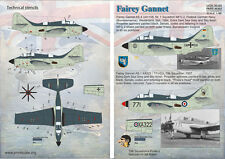 DECAL FOR FAIREY GANNET 1/48 PRINT SCALE 48-069
