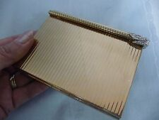 VINTAGE VOLUPTE CARRYALL PURSE COMPACT FOR EVENING - IN ORIGINAL BOX