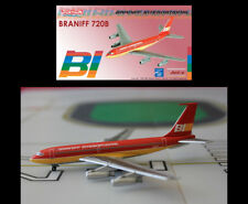 Braniff International Airways Boeing 720 Red Flying Color's JX111 1/400 Scale
