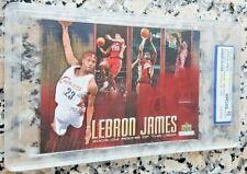 LEBRON JAMES 2003 Upper Deck SP #1 Draft Pick Rookie RC /5000 WCG 10 Lakers $$$