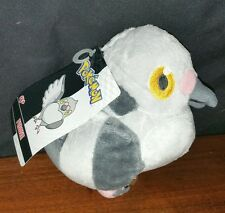 POKEMON Black & White Jakks 2011 PIDOVE Plush Figure Doll New With Tags