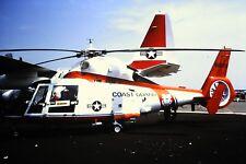 3/859 Aerospatiale HH-65 Dolphin  6104 Reg 6509 US Coastguard Kodachrome Slide