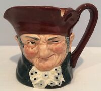 Vintage Royal Doulton Old Charley Small Character Jug D5527 Mint Condition!