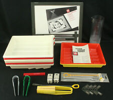 Large Lot of Vintage Paterson Darkroom Equipment - 8 Trays, Tongs & More!