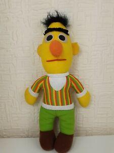 "Vintage Sesame Street BERT Plush Toy Playskool 1985 Original Jim Henson 12"""