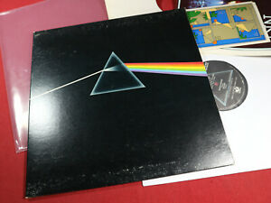 Pink Floyd  THE DARK SIDE OF THE MOON  LP EMI Harvest SMAS-11163 USA + 3 Inserts