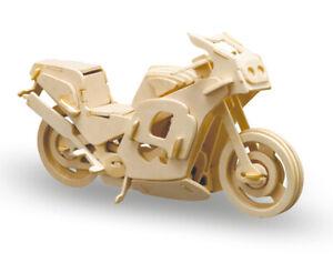 Donau Elektronik M865-8 - Kit Per Costruzione IN Legno Moto da Corsa