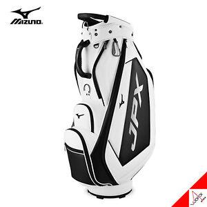 Mizuno 2021 JPX 006 Men's Golf Cart Caddie Bag 9.5inch 7lbs Polyurethane- White