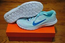 NIKE FLEX EXPERIENCE RN 4 SNOWFLAKE SKY BLUE WOMENS SHOES SIZE US 5.5Y EUR 38