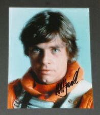 STAR WARS SIGNED MARK HAMILL AS ' LUKE SKYWALKER ',  A VERY NICE PIECE !