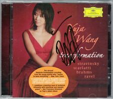 Yuja WANG Signiert TRANSFORMATION Brahms Scarlatti Ravel Stravinsky Petrushka CD