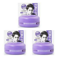 GATSBY Wild Shake Purple Moving Rubber Hair 3 X 15g Mini Wax Made in Japan