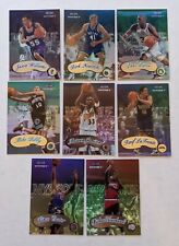 1999-00 Fleer Mystique Sophomore (8) Lot: Carter, Pierce, Williams, Nowitzki