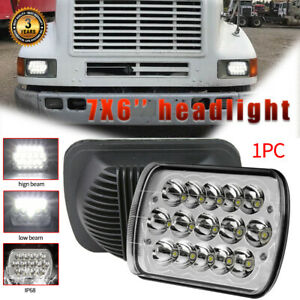 """For International Harvester 9900 4700 4800 4900 8100 3800 7x6"""" 75W Led headlight"""