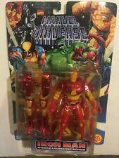 1997 NIB Marvel Universe IRON MAN Action figure Toy Biz