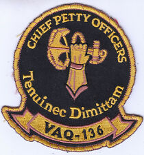 VAQ-136 GAUNTLETS CHIEF PETTY OFFICERS PATCH