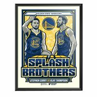 Steph Curry Warriors Splash Brothers Limited Edition Framed Serigraph Print