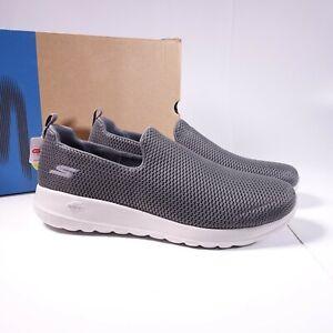 Skechers Men's GOwalk Max Slip-On Walking Shoes 54600/CHAR Charcoal Grey