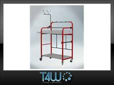 T4W Universal mobile painting trolley rack automotive auto body stand