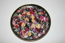 Artaffects🌸 Summers bounty Rose wreath Vintage plate #G2333 1992