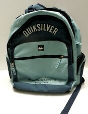 Quicksilver Light Blue and Dark Blue Backpack