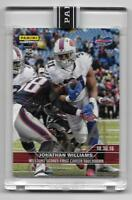 2016 Panini Instant NFL Jonathan Williams On-Card Autographed Rookie Card 4/25