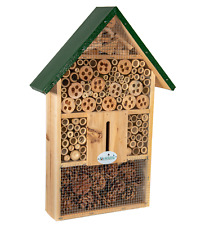 Jcs Wildlife Wide Insect Hotel - Welcomes Mason Bees, Leaf-Cutter Bees, other