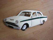 Coche Clásico Ford Lotus Cortina Metal Placa de arte de Pared-B3