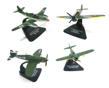 Lot 4 avions WW2 1/72 Atlas Focke Thunderbolt Shinden Mustang- MODEL AIRCRAFT
