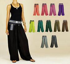 Haremshose Pumphose Aladinhose Pluderhose Boho Pants Yoga Hippie Trousers Hose