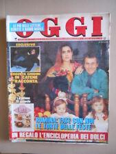 OGGI 1/2 1992 Romina Power Francesco Nuti Oriana Fallaci Bonaccorti [G767-1