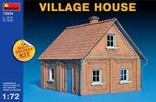 miniart village house Pueblo Casa / DE 1:72 Kit Construcción 72024 DIORAMA