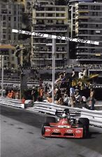 9x6 Photograph, Jean Pierre Jarier  F1 STP-March 721G   Monaco GP 1973