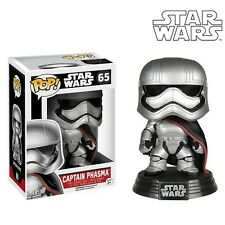 Funko Pop Star Wars The Force Awakens Captain Phasma Bobble Head Vinyl Figure