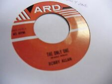 Bobby Allan The Only One/Lonely and Blue 45 RPM ARD Records 1960 VG+