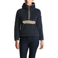 Nuevo Para mujeres The North Face campshire Top Coat Chaqueta Con Capucha Suéter Lana