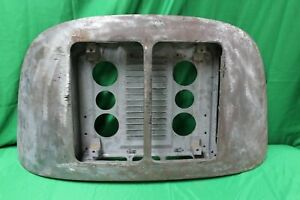 Used OEM 1960s Porsche 356 T6 Coupe Twin / Double Grill Model Engine Hood  (A