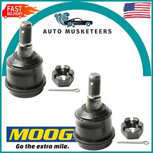 For Dodge Ram 2500 3500 Pair Set of 2 Front Upper Suspension Ball Joints MOOG