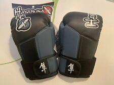 Hayabusa Tokushu 14oz Boxing Gloves Muay Thai Mma Black And Blue