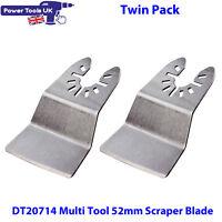 Dewalt Five Pack DT20714 Multi Tool Rigid Scraper Saw Blade Fits DCS355 DWE315