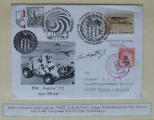 s1488) Österreich Raumfahrtkongress Apollo 16 Beleg SoSt Wien OU Ken Mattingly