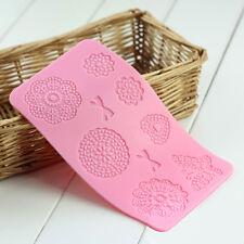 3d Silikon Matte Spitze Lace Mold Fondant Torten Dekoration Cake Schmetterling