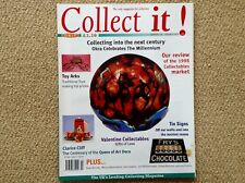 COLLECT IT! ISSUE 20 FEBRUARY 1999 - VALENTINE COLLECTABLES/TOY ARKS/TIN SIGNS