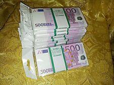 EURO.SOUVENIR BANKNOTE 500euro ,10pcs  (SIZE:155*75mm#95~100pc)NEW.