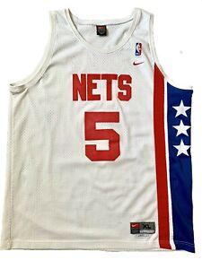 VTG - Nike Jason Kidd #5 NJ Nets - ABA Hardwood Classics Swing-man Jersey - XL