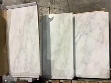 Carrara White Marble Tile polished12x24 (1pc/2sf)