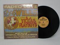 Bob Wills' Original  Texas Playboys Faded Love LP Delta 1981 Shrink